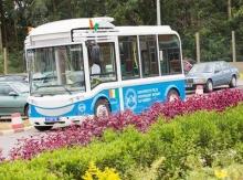 La première ligne de bus 100 % électrique d'Afrique
