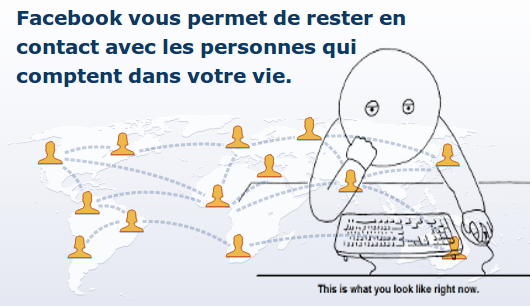 La drague sur Facebook